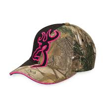 browning realtree fuschia cap headwear outdoor fishing hunting ebay