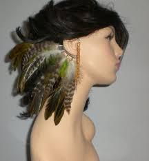 ear cuffs on both ears 79 best ear cuffs feather earrings feather ear cuffs spiked