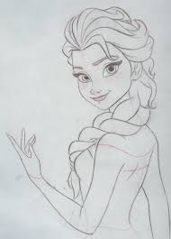 drawn frozen pencil drawing pencil color drawn frozen