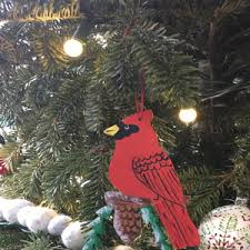 hummingbird ornament bird tree ornament handmade