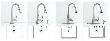 moen motionsense faucet kitchen faucet 1 2 3 or 4 moen motionsense