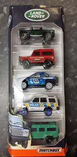 matchbox land rover defender 110 matchbox land rover 5 pack u2013 jasmine u0027s garage