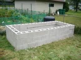 concrete block raised garden bed plans concrete block raised