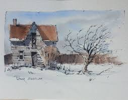 winter farm sketch with two colors latest video posted on u2026 flickr