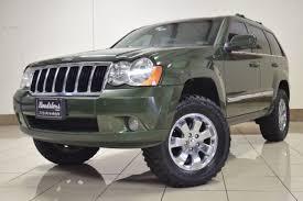 2008 lifted jeep grand jeep grand chreokee limited 4x4 3 0l crd diesel lifted navi