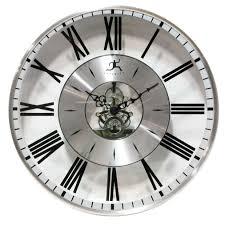 design contemporary wall clocks spaces home decor inspirations