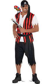Halloween Costumes Kids Girls Party Pirate Costumes Men Mens Pirate Party