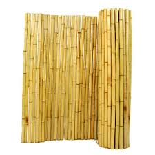 Bamboo Backyard Backyard X Scapes 3 Ft H X 8 Ft W X 1 In D Natural Rolled