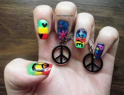 20 happy hippie nail designs to boost your inner soul u2013 naildesigncode