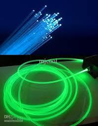 fiber optic light strands fairy christmas led string night fiber optic light xmas ktv plastic