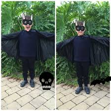 a diy bat costume for halloween and then there was you
