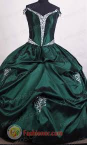 aqua green quinceanera dresses gown the shoulder floor length green