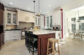 cherry kitchen island cherry wood kitchen island and a traditional white kitchen with