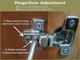 adjust kitchen cabinet doors how to adjust cabinet door hinges homedesignview co