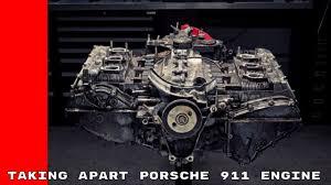 engine porsche 911 taking apart a porsche 911 engine
