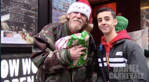 christmas gifts for the homeless giving back youtube