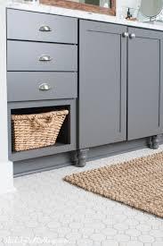 builder grade customizing builder basic cabinets the lilypad cottage