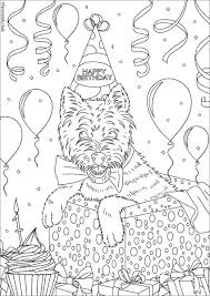 cats and dogs birthday dog favoreads coloring club printable