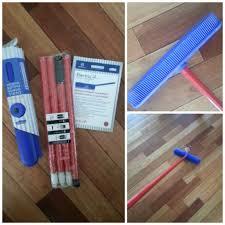 Laminate Floor Broom Electrosilk Silicone Broom That Bald