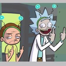 Rick And Morty Meme - rick and morty tumblr