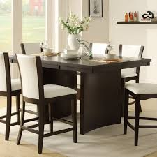 espresso rectangular dining table contemporary dining room design with dark espresso rectangular