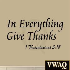 in everything give thanks wall decal 1 thessalonians 5 18 bible home wall quotes bible verses in everything give thanks wall decal 1 thessalonians 5 18 bible scripture rel
