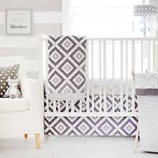 modern baby bedding gray baby bedding neutral baby bedding