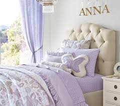 Tufted Headboard Bed Eliza Tufted Upholstered Bed Headboard Pottery Barn