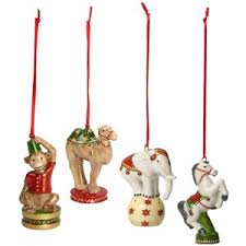 villeroy boch nostalgic ornaments circus animals ornaments