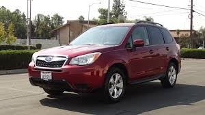 used 2014 subaru forester red for sale in fresno ca vin