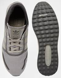 adidas originals los angeles trainers in gray for men lyst