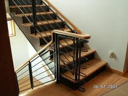 Steel Banister Rails Wood And Steel Handrail By Alphaal Lumberjocks Com