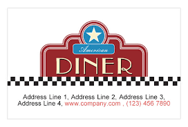 american diner restaurant print template pack from serif com