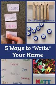 129 best name activities images on preschool names name