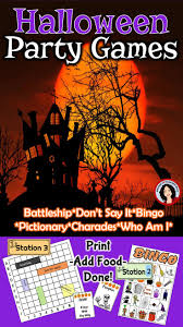 halloween games for your class party halloween games language