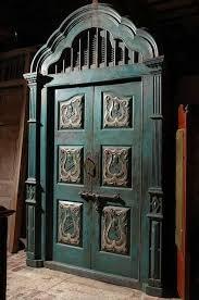 shabby chic doors turquoise shabby chic door by starmekitten doors