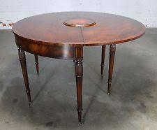 baker furniture game table federal antique tables ebay