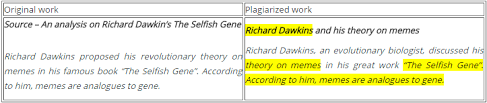 The Selfish Gene Meme - the 9 most common types of plagiarism