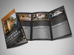 free templates for hotel brochures best tri fold brochure 23 tri fold brochure designs free psd vector