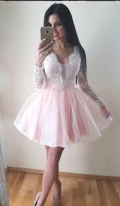 light pink graduation dresses pink homecoming dress light pink short prom by dress on zibbet