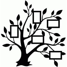 silhouette design store view design 76247 5 frame family tree