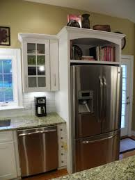 What To Do With The Space Above Your Kitchen Cabinets Above Fridge Cabinet Ideas Google Search Home Pinterest