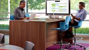 Steelcase Computer Desk Cfire Big Table By Turnstone Steelcase