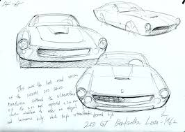 ferrari sketch daily ferrari u2014 jerry u0027s work