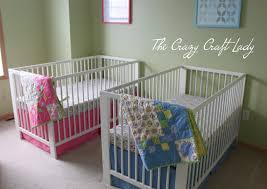 diy ikea crib bedding the crazy craft lady
