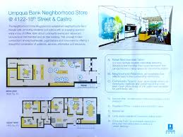 Floor Plan Of A Bank by Umpqua Bank Planned For Magnet Space On 18th Street Hoodline