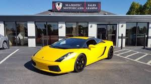 yellow lamborghini aventador for sale 2004 lamborghini gallardo for sale carsforsale com