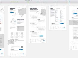 10 fascinating examples of wireframes in web design u2013 honest dot