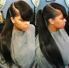 long hair styles with swoop bangs black hair theextramile long pony and bangs natural hair growth