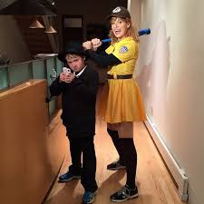 Pitchers Halloween Costumes Celeb Tots Spent Halloween Pictures